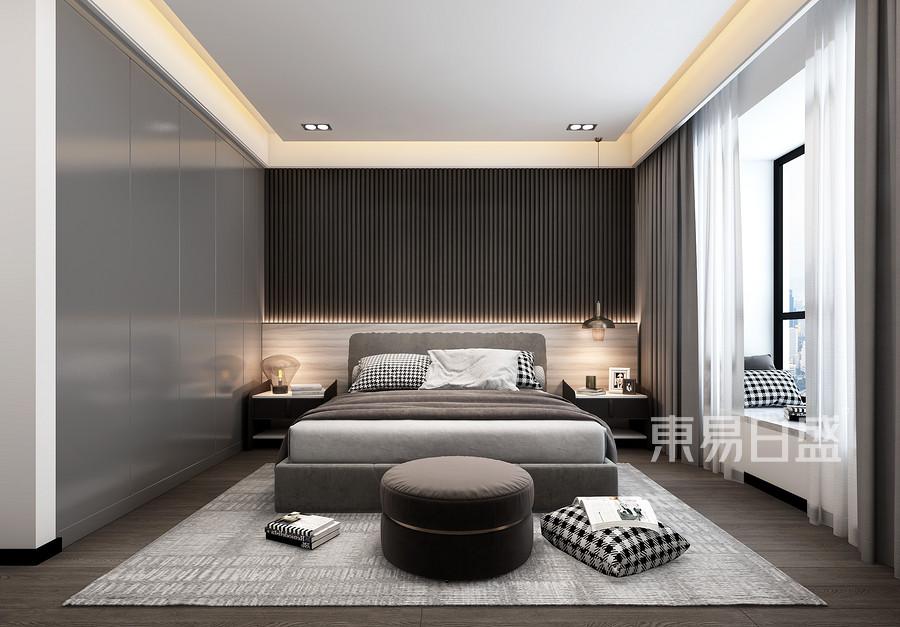 三居室-現代簡約-效果圖