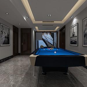 中海上林院400平新中式风格案例