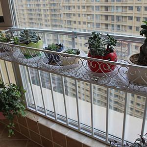轻奢风格-阳台-装修实景图
