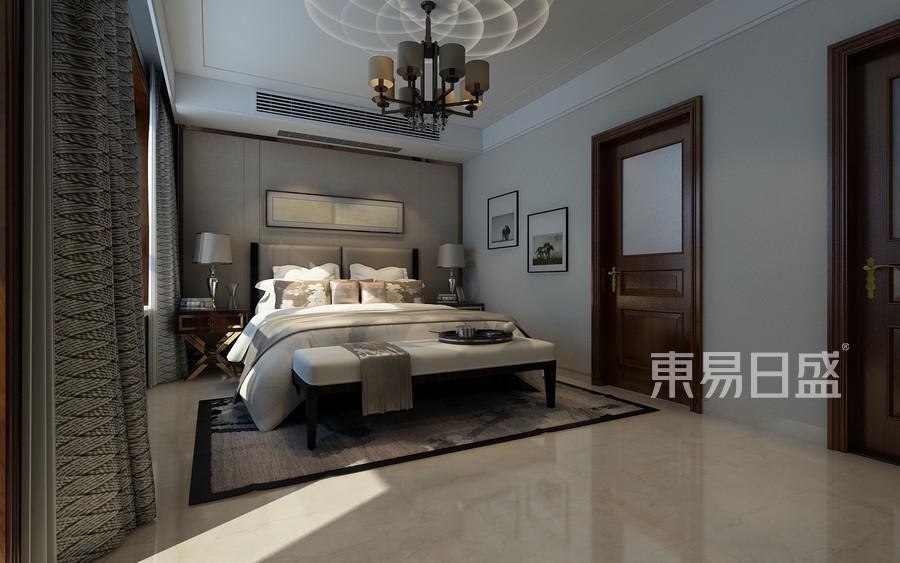别墅设计-简中风格-卧室设计