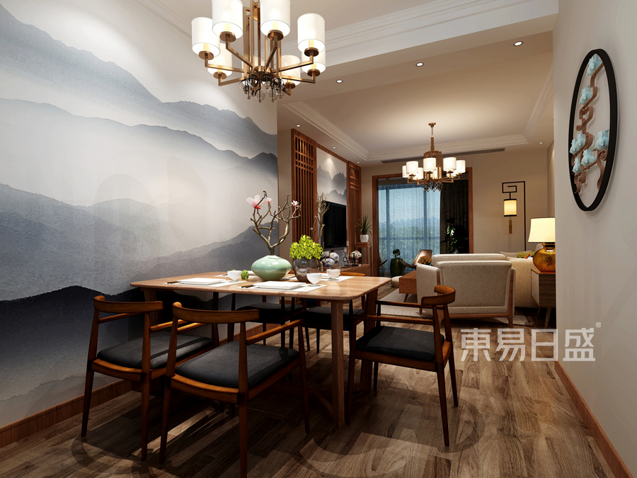 餐厅新中式风格设计