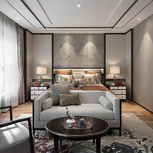 客厅简洁凝练的家具,清雅含蓄