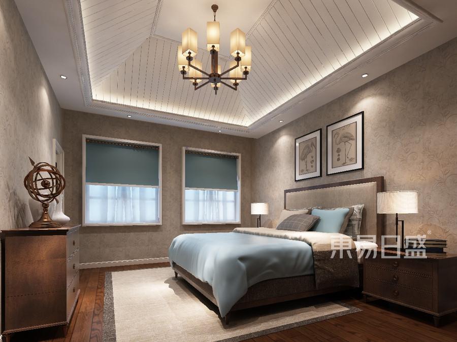 顶跃卧室美式风格设计