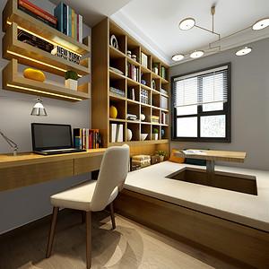 奥山创意街两室两厅90平米北欧风格效