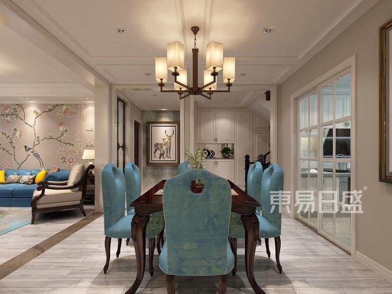 顶跃餐厅美式风格设计