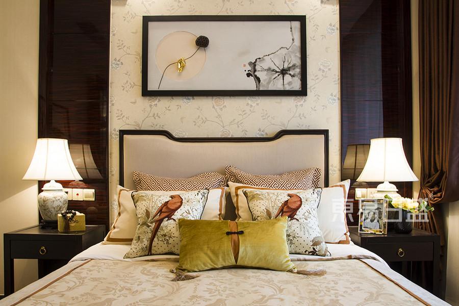 新中式风格-卧室