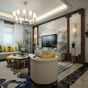 电视墙电视墙、窗帘以及家具