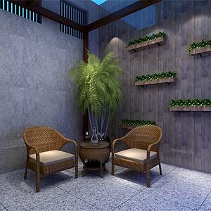 新中式-阳光房