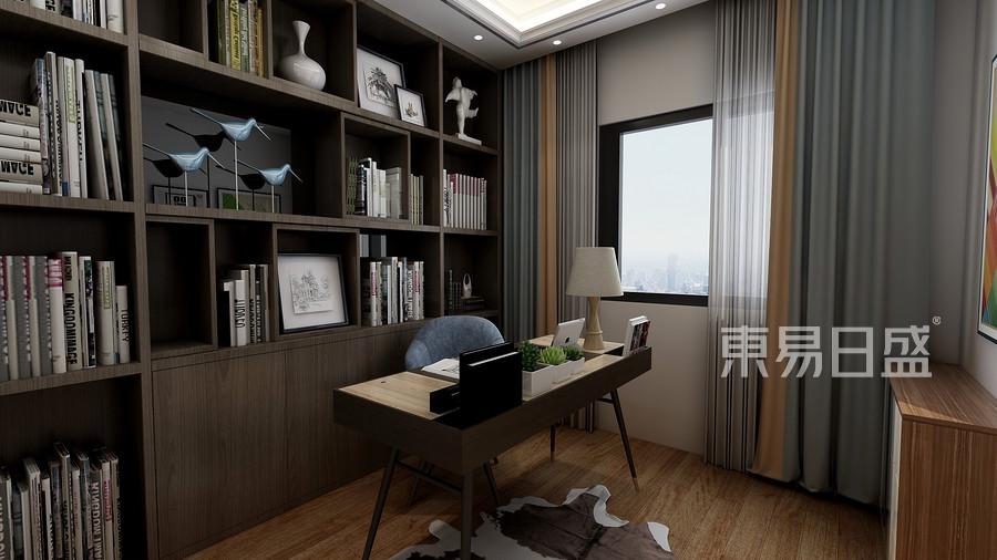 三居室-現代-效果圖