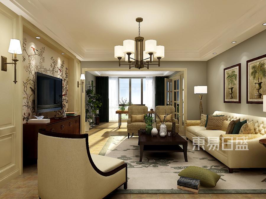 美式风格客厅设计