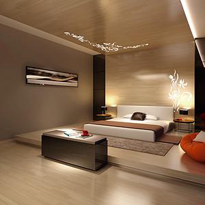 自建别墅-现代简约-卧室