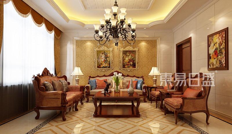 首页 室内装修效果图 > 别墅装修-欧式古典风格效果图   爱欧格调