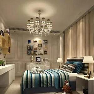 深业花园-欧式风格-卧室装修效果图