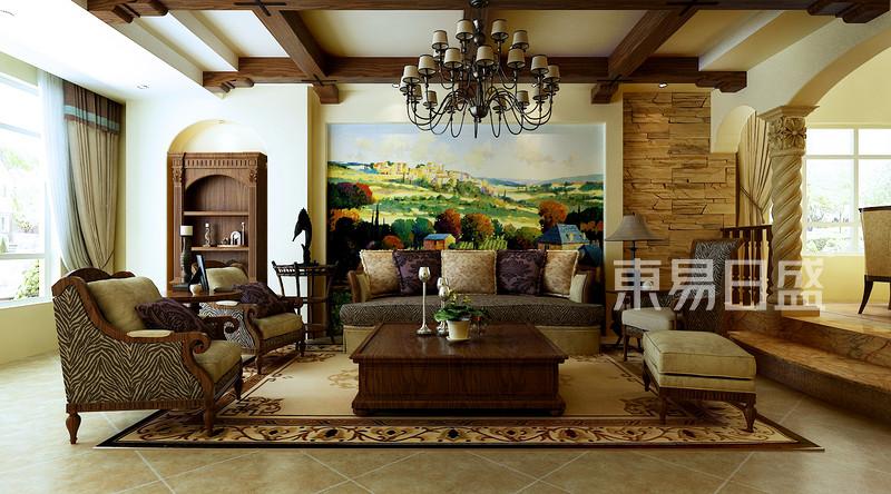 通化别墅360平地中海风格案例
