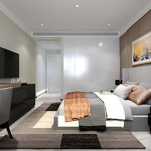 极简风格-卧室-装修效果图