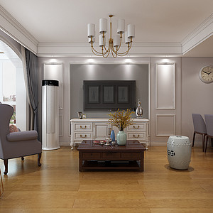 秀水名邸-复式-现代简约风格装修案例