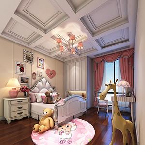 新中式风格 儿童房装修效果图