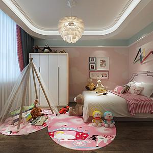 现代美式风格儿童房