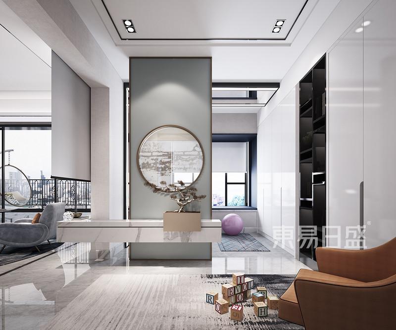 120㎡佛山装饰设计-门厅
