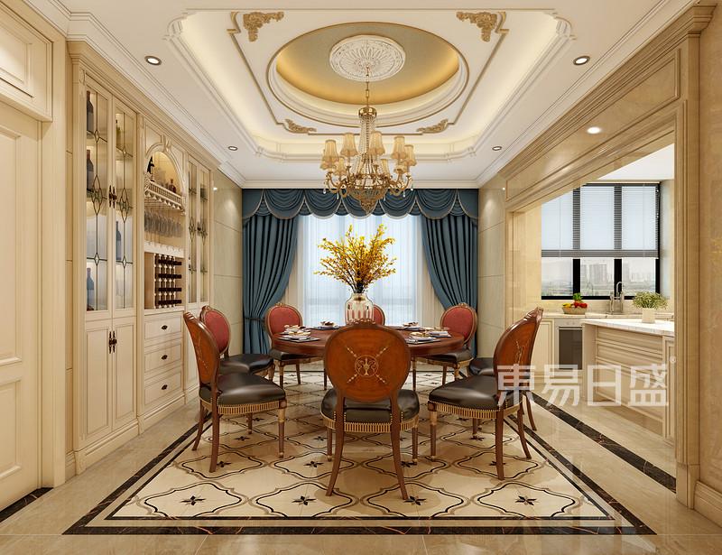 450平别墅装修效果图,欧式古典风佛山人的一手明中路别墅最爱图片