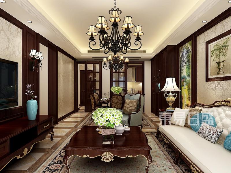 欧式古典风格客厅设计