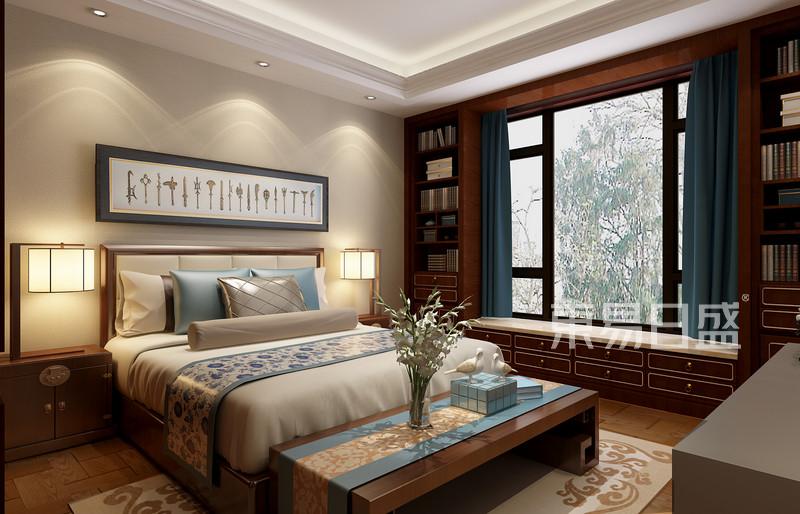 中式风格-三楼次卧室