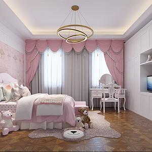 珠江一千栋 新古典 儿童房装饰