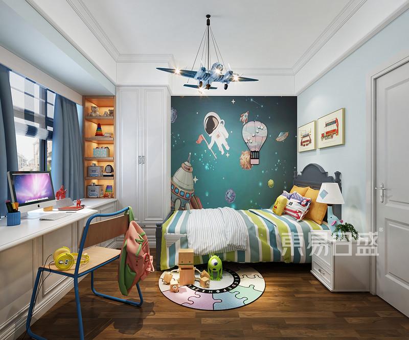 佛山轻奢风儿童房装饰设计