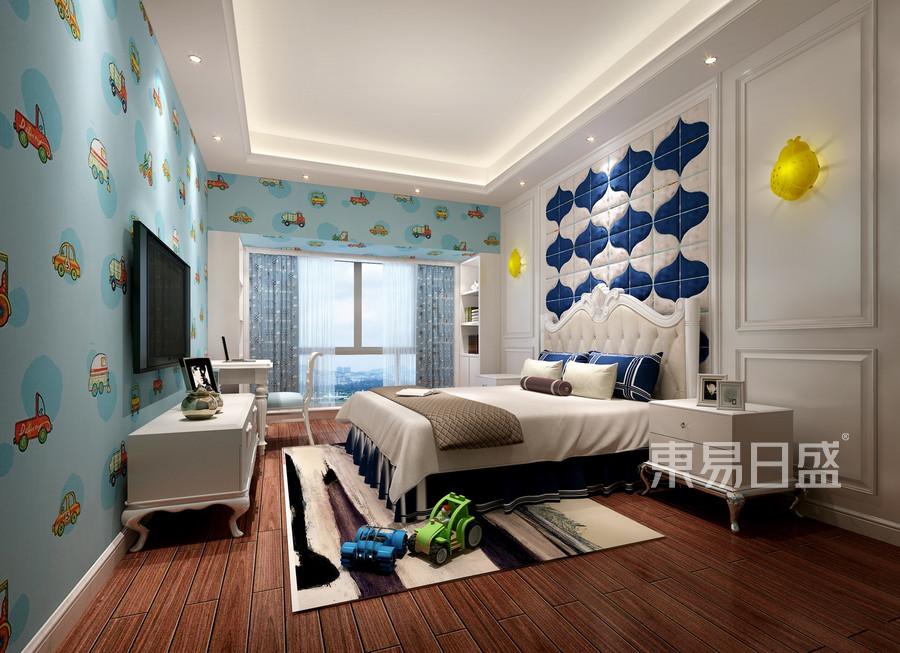合正荣悦-欧式风格案例-小孩房装修效果图