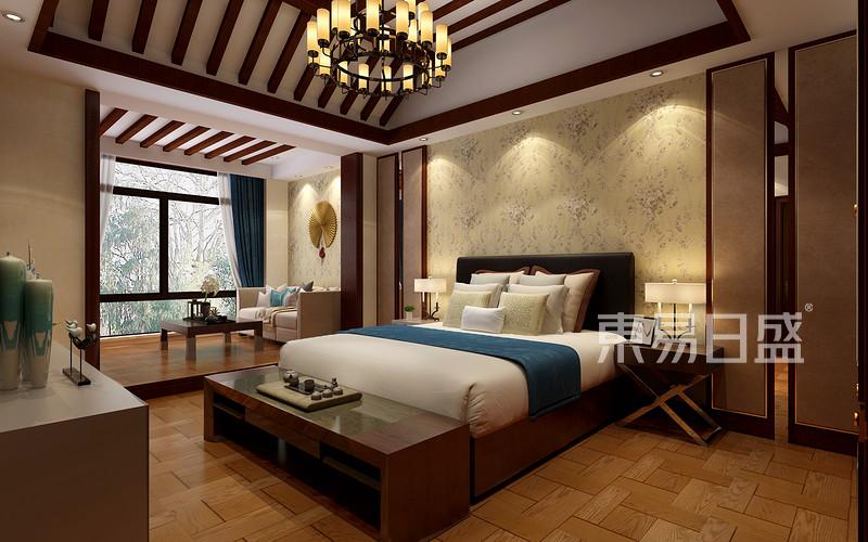 中式风格-三楼卧室