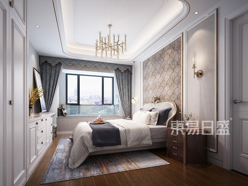 佛山轻奢风卧室装饰设计