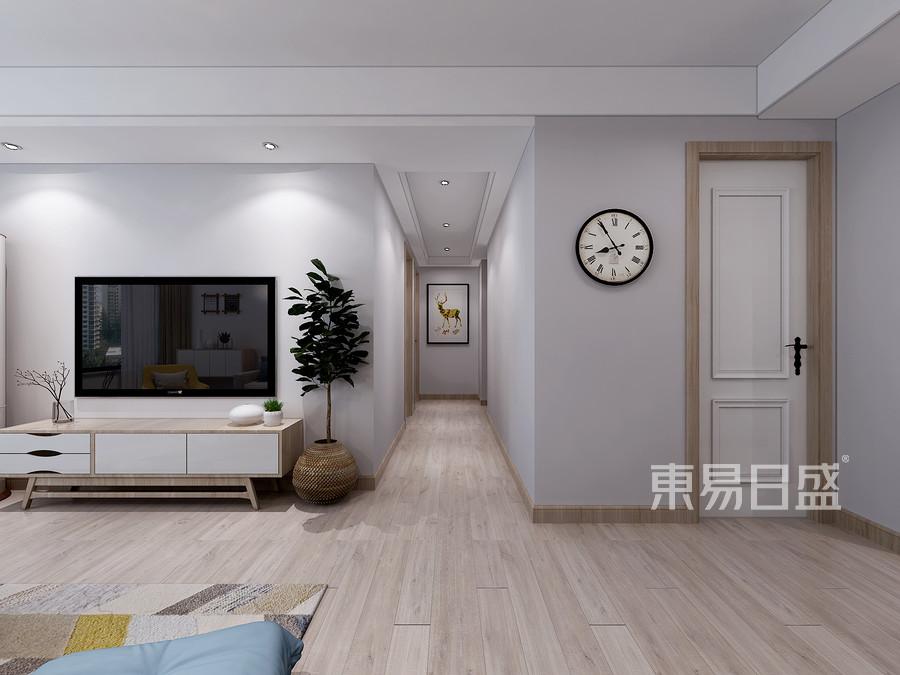 青岛装修公司-美式设计案例-装修效果图
