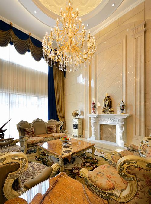 比华利800平米别墅欧式古典风