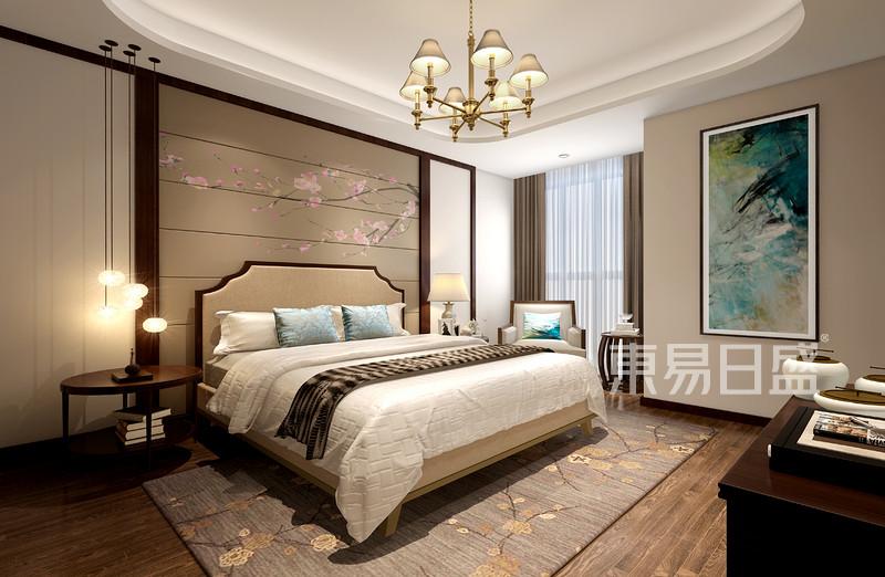 卧室新中式装修效果图
