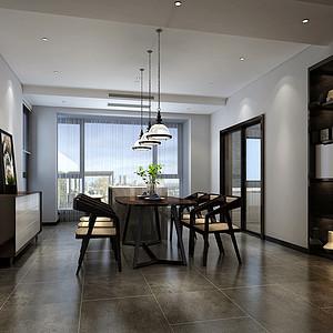 仙海·雅境400㎡现代简约别墅装修效果图