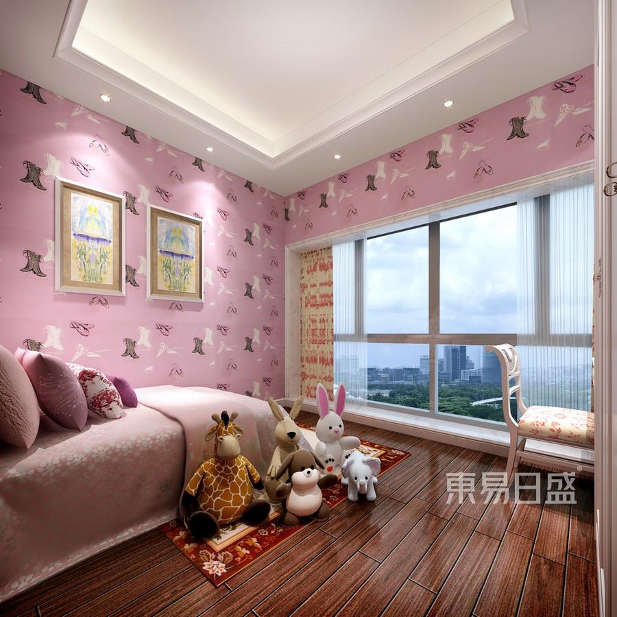 合正荣悦-欧式风格案例-女儿房装修效果图