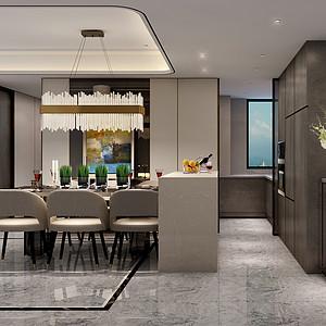 现代简约装修风格案例_餐厅设计