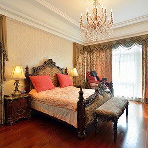 欧式宫廷风格卧室装修效果图-第7661页 西安装饰效果图 西安装饰设计