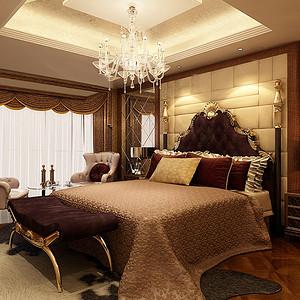 汇水湾样板房-欧式-卧室