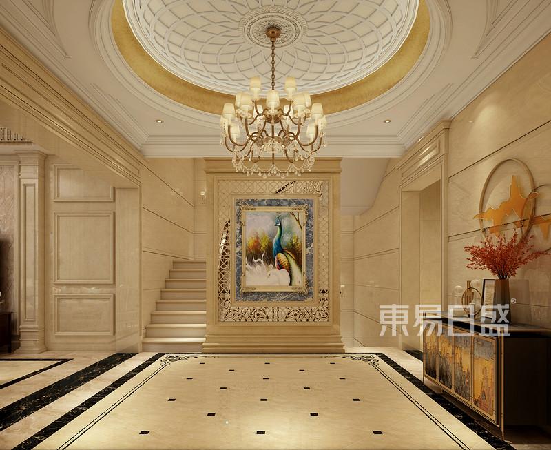 450平别墅装修效果图,欧式古典风佛山人的天府湖新区兴隆最爱别墅图片