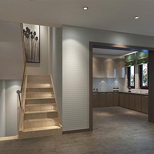 园北欧风情风格楼梯间装修效果图-其他装修效果图 其他装修图片 其
