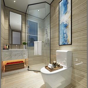 美式风格 卫生间装修效果图 别墅装饰