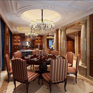 上上城餐厅风格客厅装修效果图-第157页 西安其他餐厅装饰效果图 西