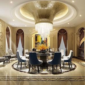 龙湫湾欧式风格餐厅