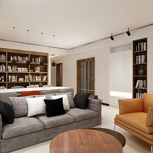 南湖国际130㎡四居室现代简约风格