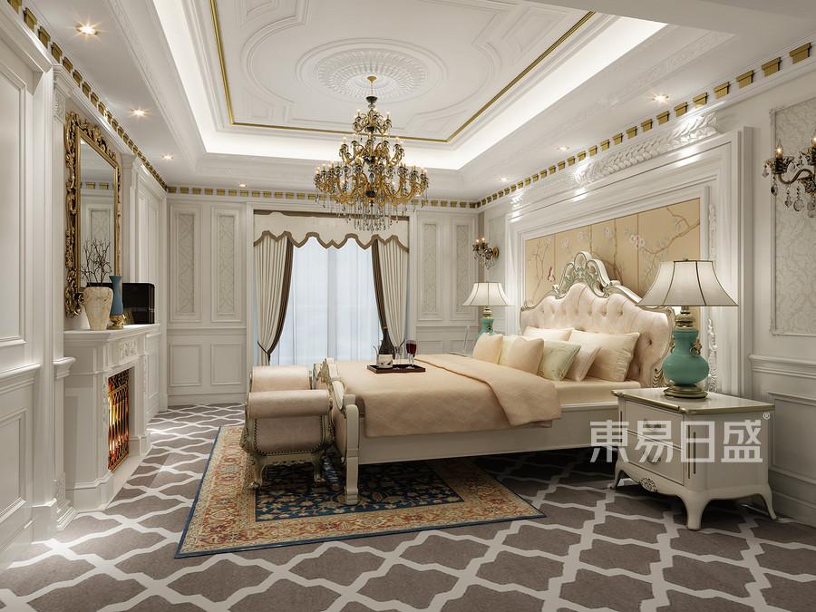 卧室-混搭风格-效果图