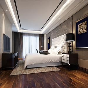欧式古典风卧室装修效果图