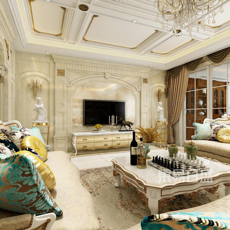 欧式古典 - 欧式风格客厅