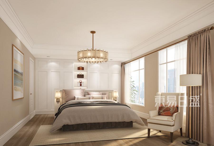 卧室装修效果图 简美风格装修设计