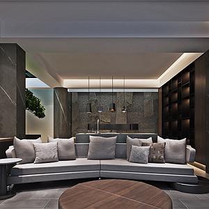 扬州天下别墅299平(实际400平)现代风格